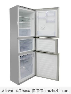 onshen BCD 212MA BL61 三开门冰箱 212L 银色 库巴购物网价格