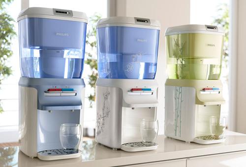 过滤方面,独特的集成桶装饮水机系统