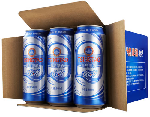 食品保健品 酒水 啤酒 03 青岛啤酒 24听*500ml(2箱装) 淘宝聚划算