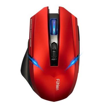富勒 X100 双翼游神双模动力无线游戏鼠标