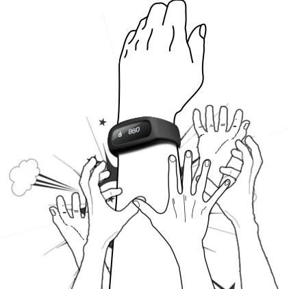 智能手环 黑色