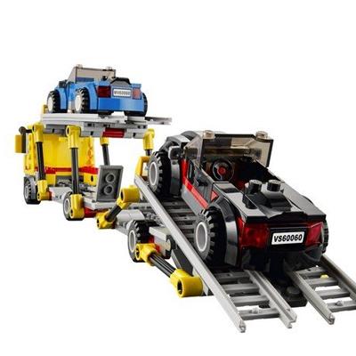 LEGO 乐高 城市组 汽车运输车 60060 亚马逊中国257包邮怎么样 哪里