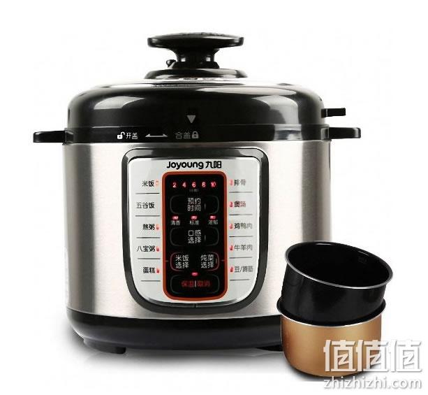 九阳 智能调压系列 jyy-50yl80-b 电压力锅5l双胆 亚马逊中国价格199