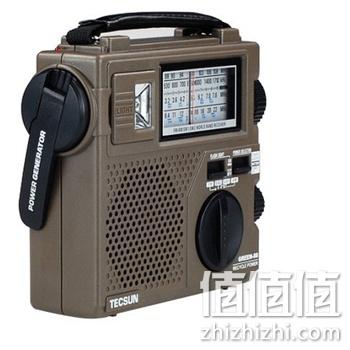 德生gr-88 手摇发电应急收音机 亚马逊中国价格110包邮