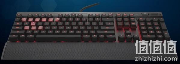 海盗船 vengeance系列 k70 机械游戏键盘 茶轴 京东商城价格899包邮