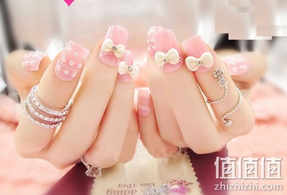 法式新娘指甲片 24贴片