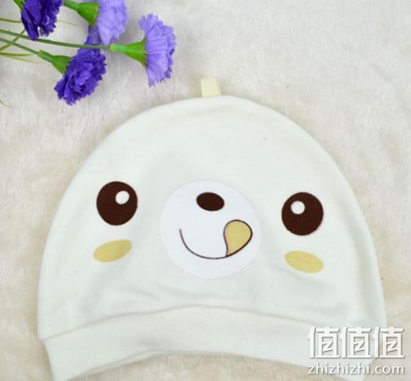 【包邮】逗逗猴秋男女宝宝纯棉帽子