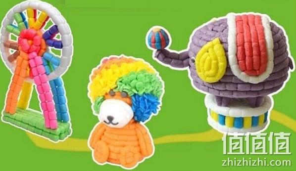 淘宝网售价9.9元包邮,这款玩具采用100%玉米淀粉和食用色素制作的,所以不担心孩子玩的过程中咬食之类的情况。玉米粒具有不错的延展性和柔软性,揉搓扭捏都不易断。这种DIY的玩具集趣味性和创造性于一身,是买给孩子的不错选择。