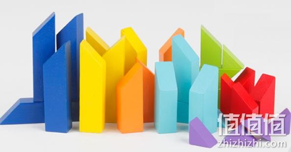 多彩七巧板积木玩具 32粒哪里买便宜?淘宝网价格9