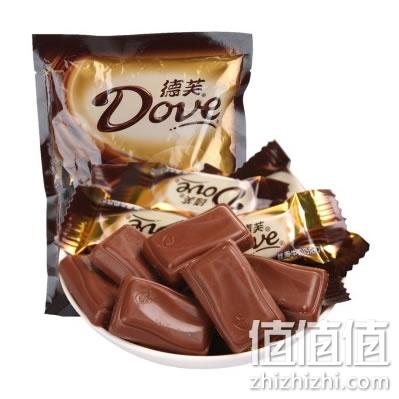 德芙 丝滑牛奶巧克力 516g袋装 京东商城价格49.9元