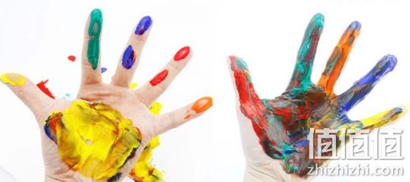 【包邮】韩国无毒水洗儿童手指画颜料
