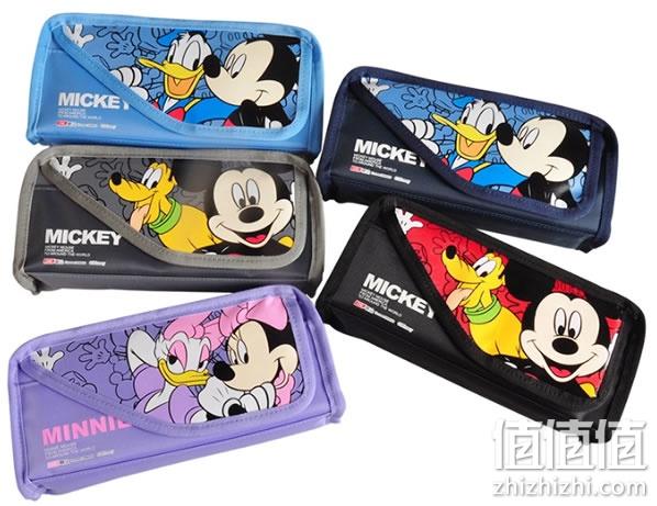 迪士尼米奇卡通超大容量笔袋9.9包邮 淘宝天猫网购