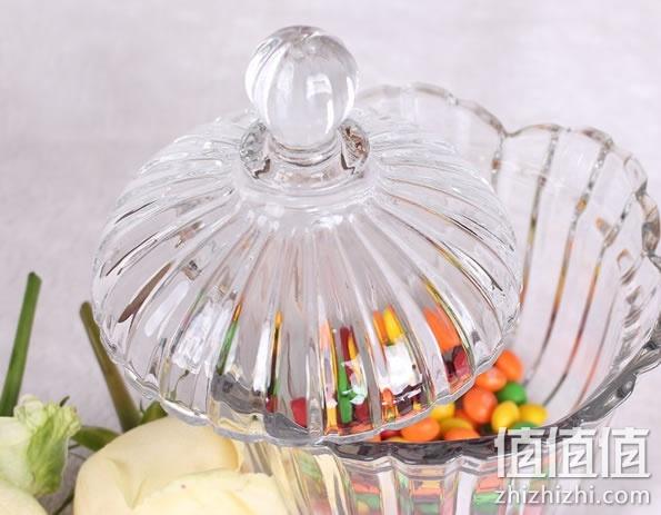 淘便宜 欧式水晶玻璃糖罐8