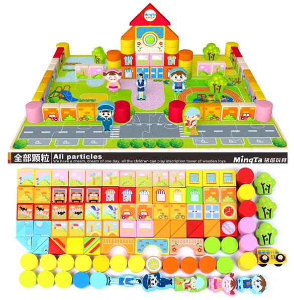 幼儿园积木智力玩具怎么样?哪里买便宜?