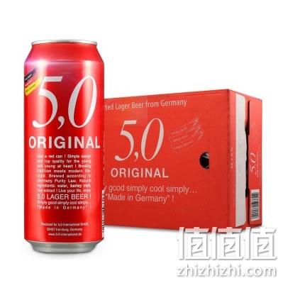 5.0 ORIGINAL 窖藏啤酒