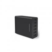 多重优惠!CHOETECH 6口USB 桌面充电器 黑色66元包邮(129-60-3)