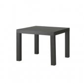简单实用!Ikea 宜家黑棕色边角桌 美国亚马逊售价$24,海淘转运到手约360元