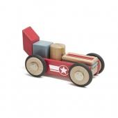 搭建属于自己的小车!Tegu Daredevil 磁性益智积木套装 美国亚马逊售价$33.26,海淘凑单到手约222元