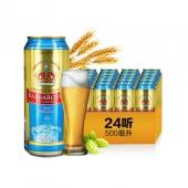 凯尔特人(Barbarossa)小麦啤酒,纯正口感! 500ml*24听 整箱装