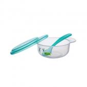 NUK 宝宝碗勺餐具套 绿色,给宝贝一个健康的童年!