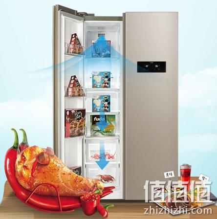 美菱BCD-607WECX对开门冰箱